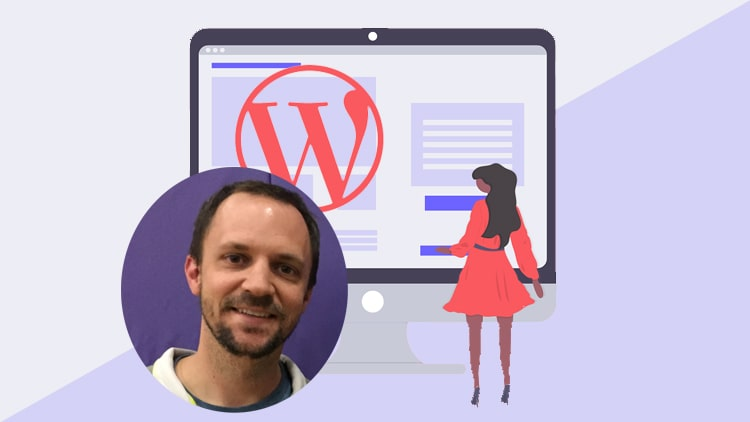 wordpress business site with templates tutorial