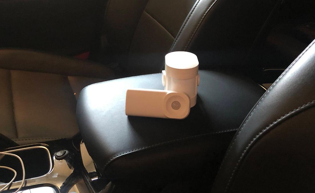 affordable car alarm motion sensor