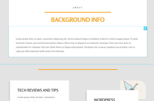 about page affiliate template