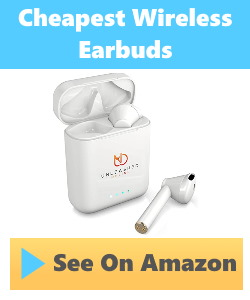 cheapest earbuds money can buy
