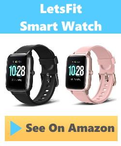 Lets fit smart watch